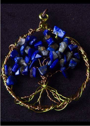 Picture of Celestial Leaves Sacred Tree of Life Pendant