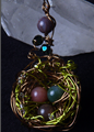 Picture of Song Bird Enchanted Nest Pendant