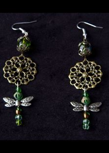 Picture of Thumbelina's Dragonfly Earrings