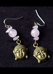 Picture of Peaceful Buddha Earrings