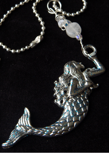 Picture of Moonstone Magic Mermaid Necklace