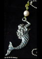 Picture of Little Mermaid Necklace Freshwater Pearl