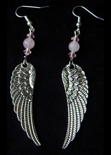 Picture of Archangel Wings of Love Earrings