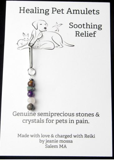 Picture of Soothing Relief  Healing Pet Amulet
