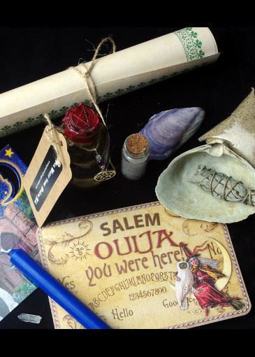 Picture of Salem Sea Magick Spell Bag  Mabon 2018