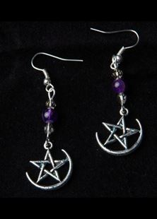 Picture of Amethyst Nights Earrings