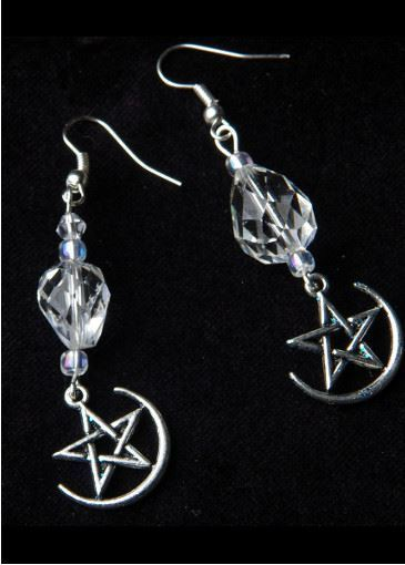 Picture of Witches' Ball Crystal Earrings