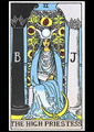 Picture of High Priestess Tarot Card Pendant