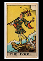 Picture of The Fool Tarot Card Pendant