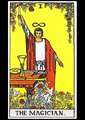 Picture of The Magician Tarot Card Pendant