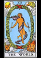 Picture of The World Tarot Card Pendant