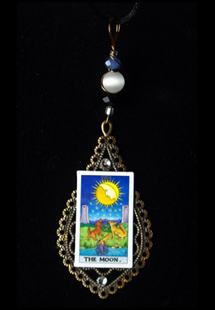 Picture of The Moon Tarot Card Pendant