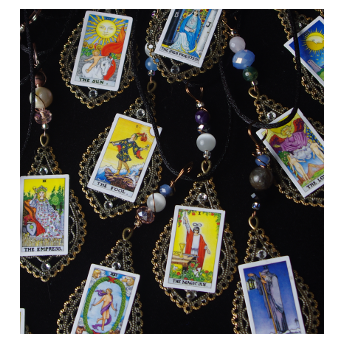 Tarot  Card Jewelry