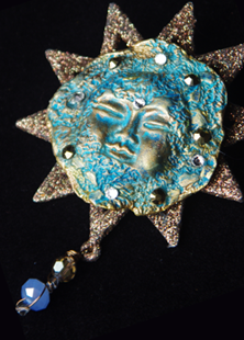 Picture of Star of Wonder Moon Spirit Brooch