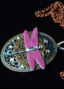 Picture of Victorian Dragonfly Pendant