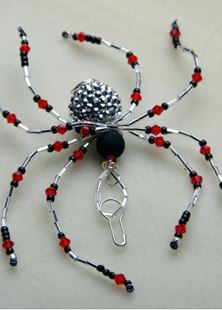 Picture of Art Deco Spider Talisman #6