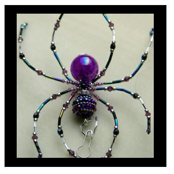 Beaded Spider Jewelry
