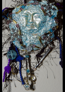 Picture of Shimmering  Snow Fae Brooch